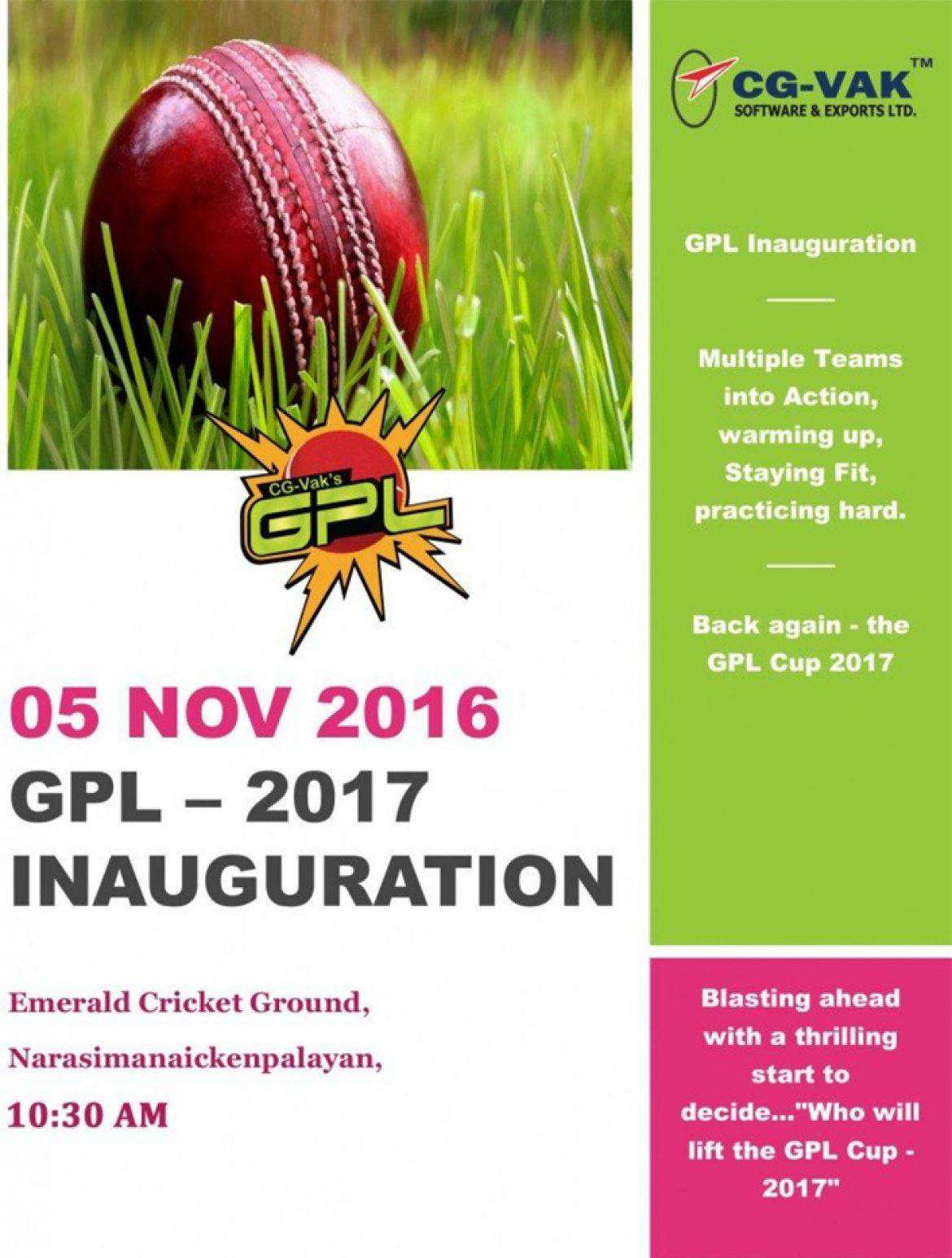 GPL  2017  Inauguration